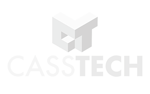 Casstech Logo 300 x 188 White