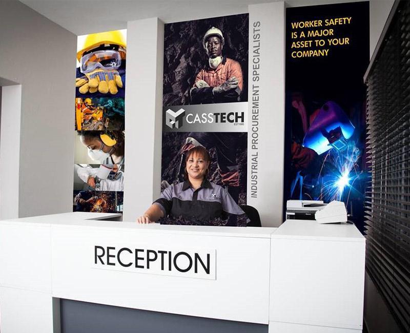 Casstech Reception